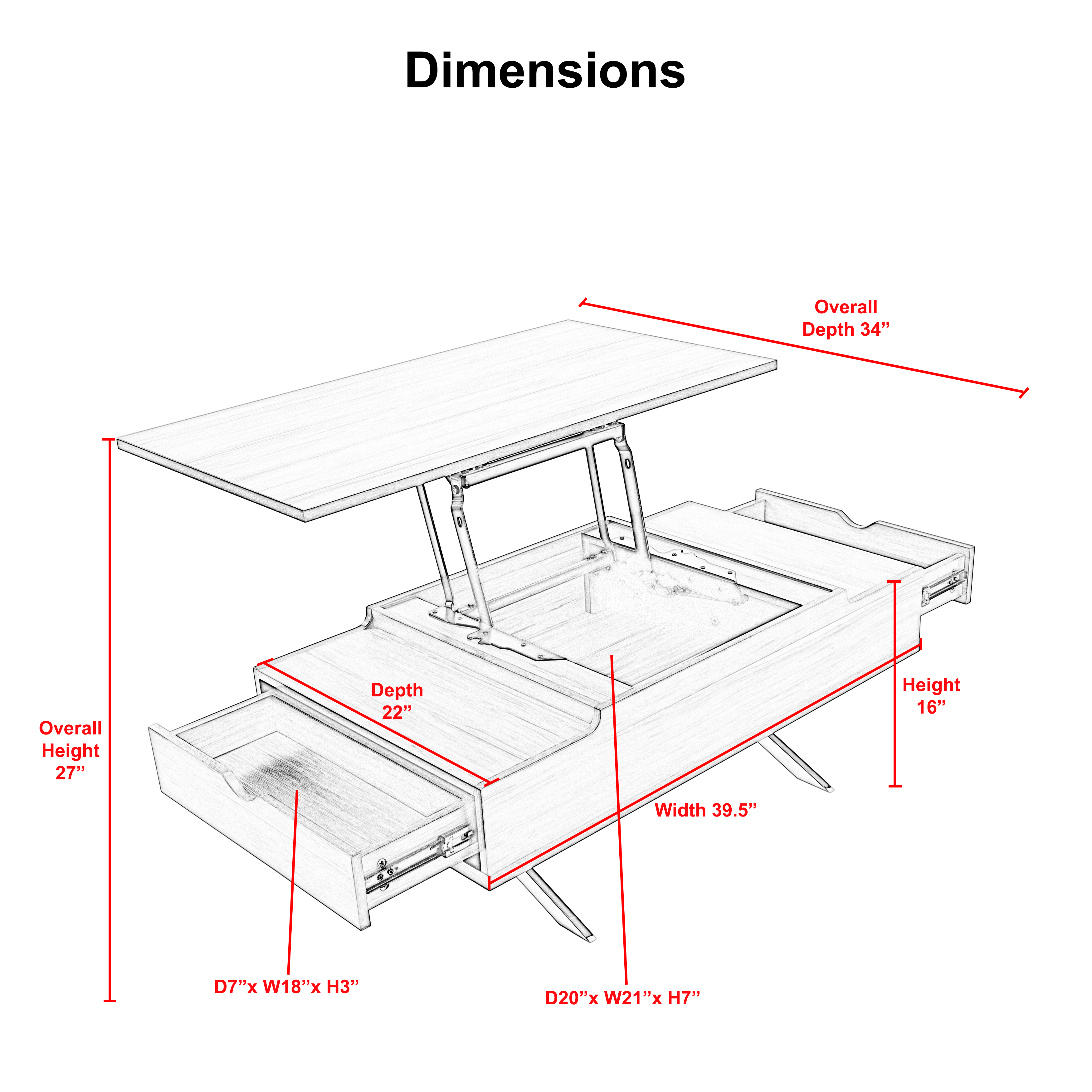 Picture of: Agnes Lift Top Melamine Veneer Wood With Chrome Legs Coffee Table Mix Multifamily